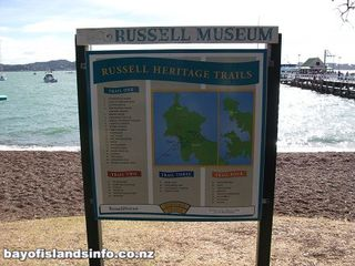 Russell Heritage Trail and Bush Walks