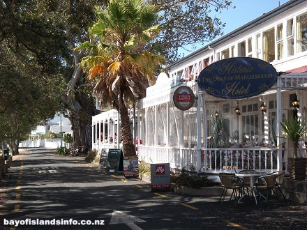 New Zealands First and Oldest Hotel, Duke Of Marlborough, Russell, Bay Of Islands