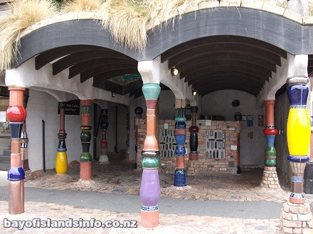 Architecture Design Public Toilets by Hundertwasser