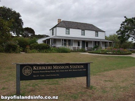 New Zealands Oldest house. Colonial settler style, Kerikeri Mission Station