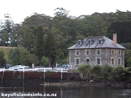 Kerikeri Stone Store, old building in New Zealand made of stone.