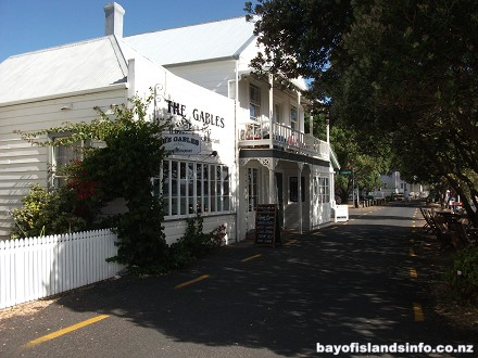 New Zealands First and Oldest Restaurant, The Gables, Russell, Bay Of Islands